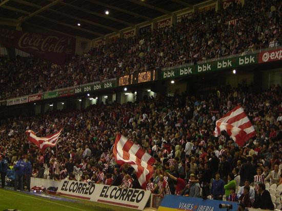 Athletic v Barca by ben bore (rhys)