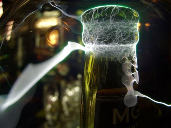 Ice cold beer ckaroli