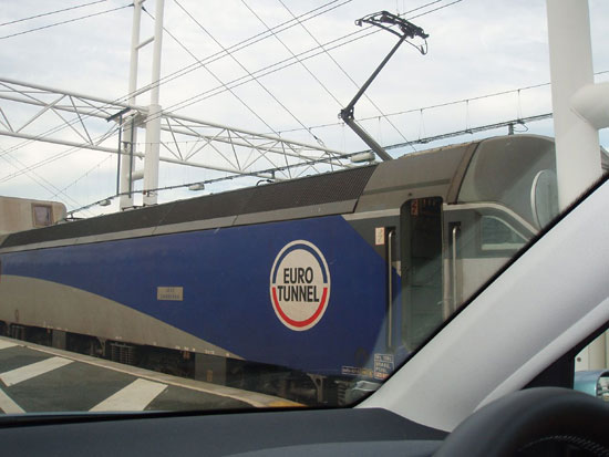 Euro Tunnel Locomotive Jose Carreras by amandabhslater