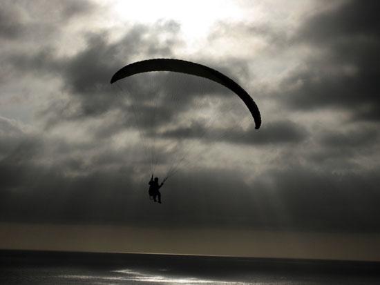 Paragliding by Matthew Bietz