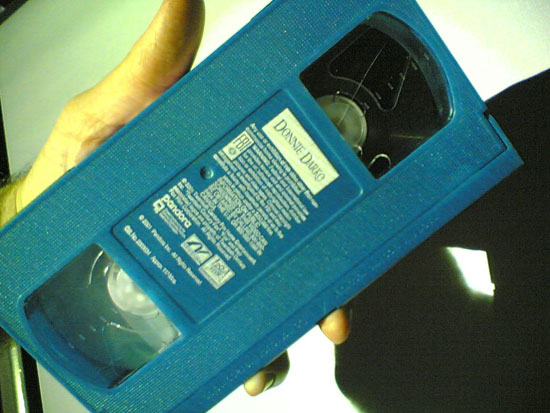 Blue VHS Tape! by jm3