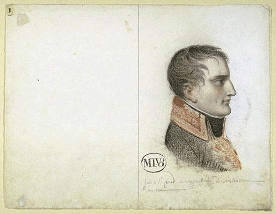 Napoleon Bonaparte from the Wikimedia Commons