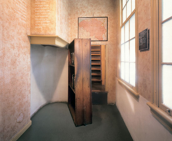 anne frank stairs