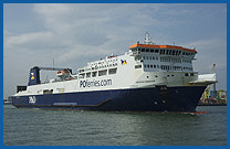 Irish Sea Ferries with P&O Ferries