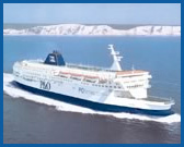 Dover to Calais with P&O Ferries