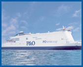 Hull to Rotterdam with P&O Ferries