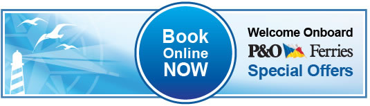 welcome onboard - P&O Ferries Special Offers
